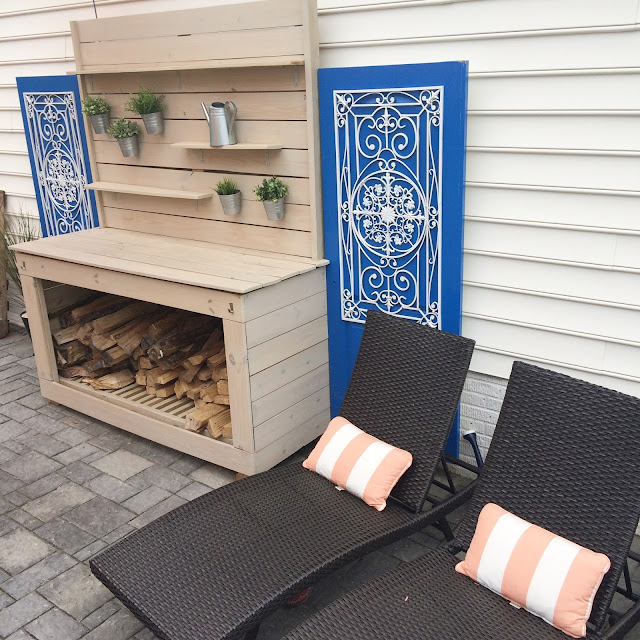 Outdoor Patio Reveal - LeroyLime #outdoorliving