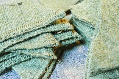 boiled wool fabric www.homeroad.net