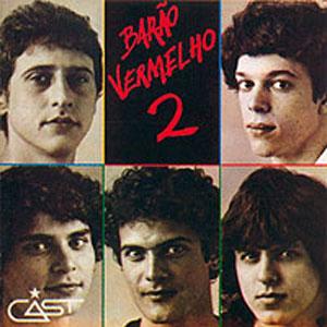 """Capa do """"Barão Vermelho 2"""", Lançado em 1983"""