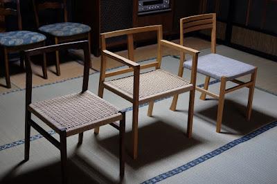 愛知県瀬戸市の家具工房 MOST furnitureの椅子