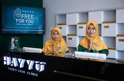 Klinik Kecantikan Syariah Hayyu Syar'i Skin Clinic Halal Sesuai Syariat Islam