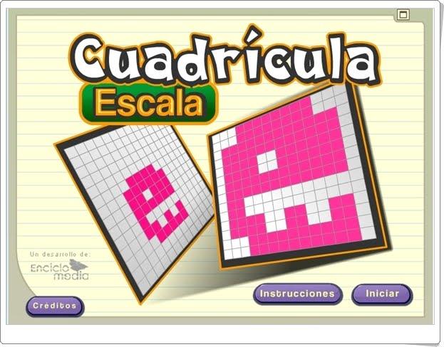 """""""Cuadrícula Escala"""" (Aplicación de Proporcionalidad de Primaria)"""