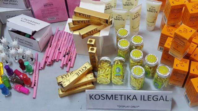 12 Daftar Merk Kosmetik Palsu yang Disita BPOM