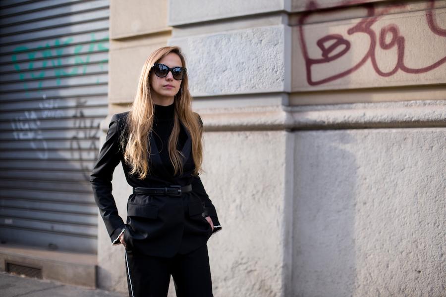 fashion blogger in milan