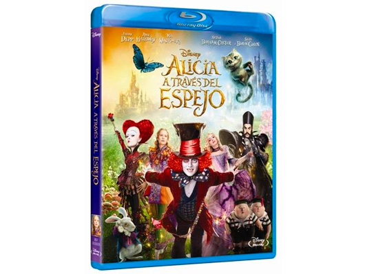 Concurso 'Alicia a través del espejo': Llévate el Blu-ray de la película gracias a Disney