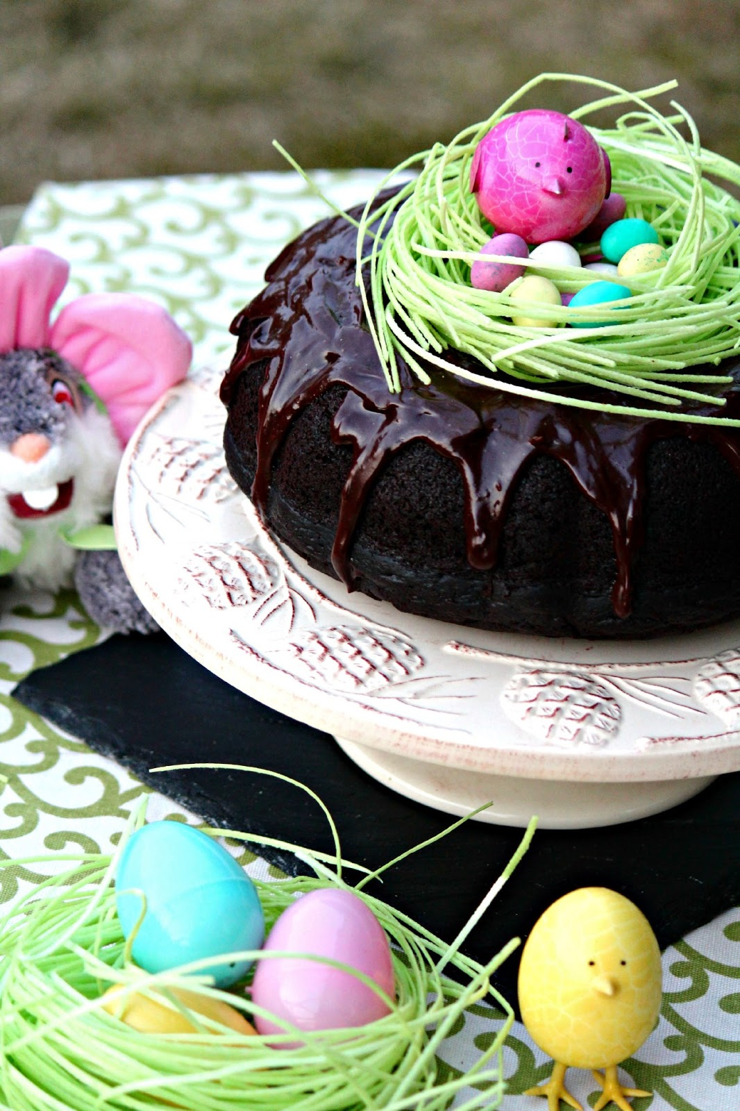 The Red Apron Dark Chocolate Bundt Cake