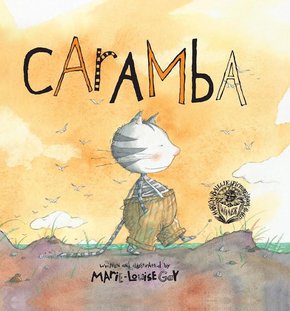 Portada a tamaño grande del cuento infantil Caramba ilustrado por la ilustradora canadiense Marie Louise Gay