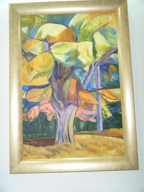 Les peintures de mes élèves à l'expo 2