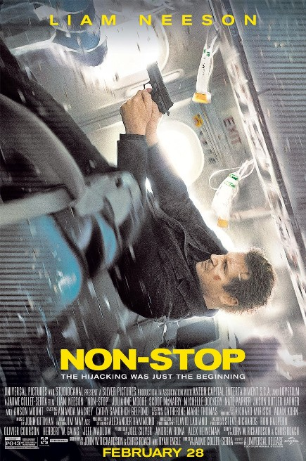 """Non-Stop (2014)"" movie review by Glen Tripollo"