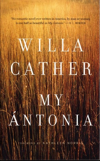 An analysis of the character antonia shimerda in my antonia by willa cather