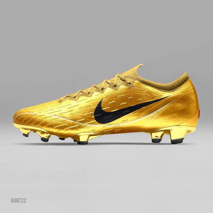 on sale c047b 7d3d5 Gold Nike Mercurial