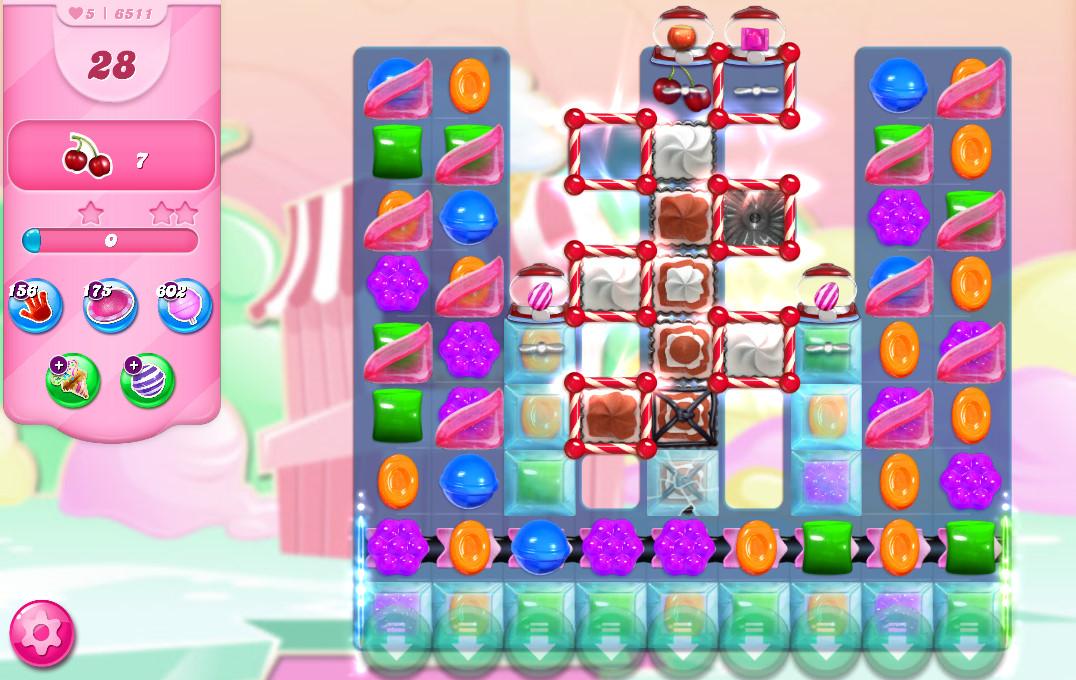 Candy Crush Saga level 6511