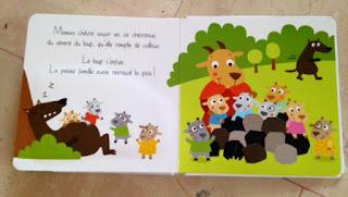 Contes à toucher - le loup et les sept chevreaux - Editions TAM TAM