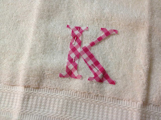 how to add a monogram to towels