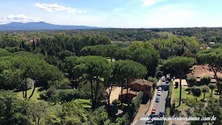 passeio via appia guia portugues vista Aerea - A Via Appia Antiga
