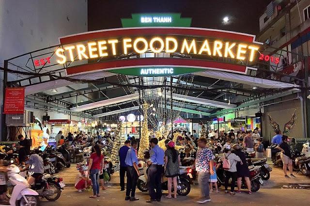 Ben Thanh street food market – a venue worth visiting 1