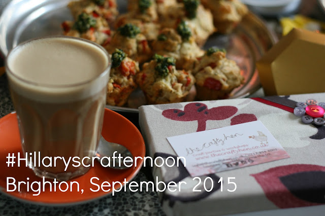 Crafternoon Brighton 2015