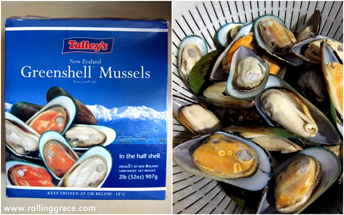 Talley's greenshell mussels new zealand