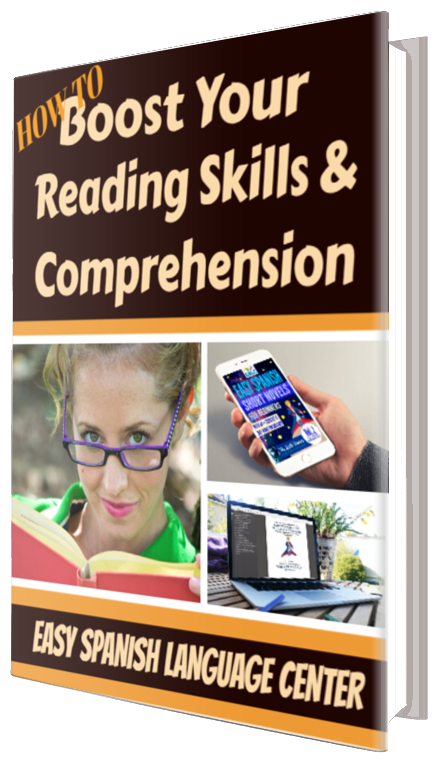 Free pdf easy spanish language center just send us your name and email and we will send you our free pdf how to boost your reading skills and comprehension fandeluxe Gallery
