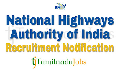 NHAI Recruitment notification of 2018, govt jobs for graduates