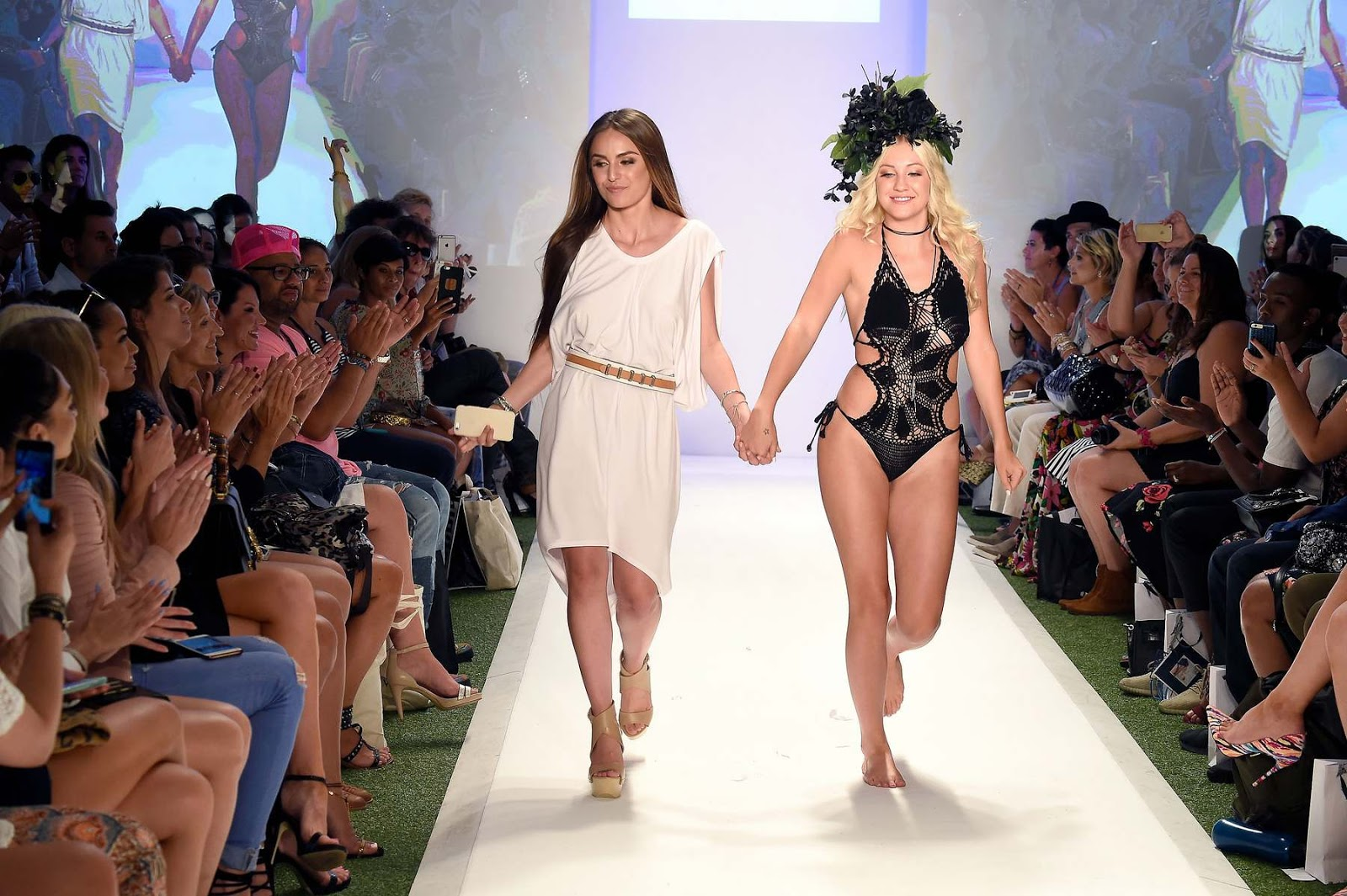 Ava Sambora walks the Baes & Bikini Fashion Show 2017