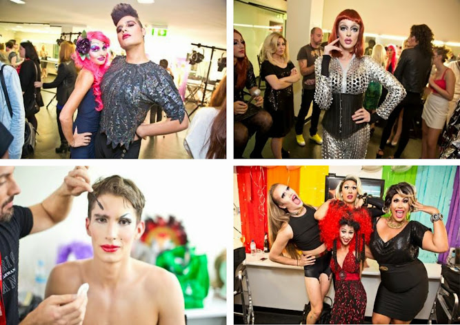 Australasian College Drags and Divas Makeup and Hair 2014