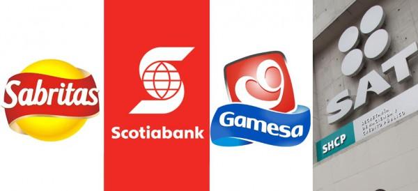 """SAT """"perdonó"""" mil 123 mdp en multas y recargos a Sabritas, Gamesa, Scotiabank"""