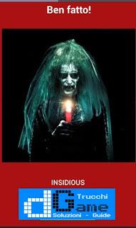 Soluzioni Quiz Horror Movie livello 19