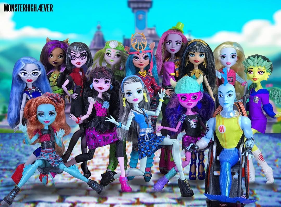 Monster High Pretty Foto Casera De Muñecas Monster High