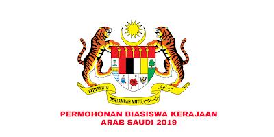 Permohonan Biasiswa Kerajaan Arab Saudi 2019 Online