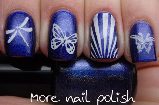 Salon Express Nail Art Stamping Kit - with giveaway ~ More Nail Polish
