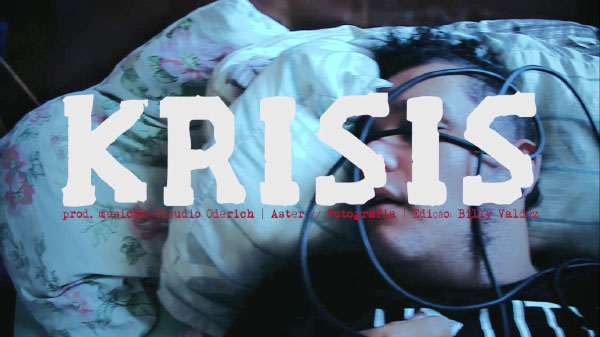 """Aster premiere video for """"Krisis"""""""