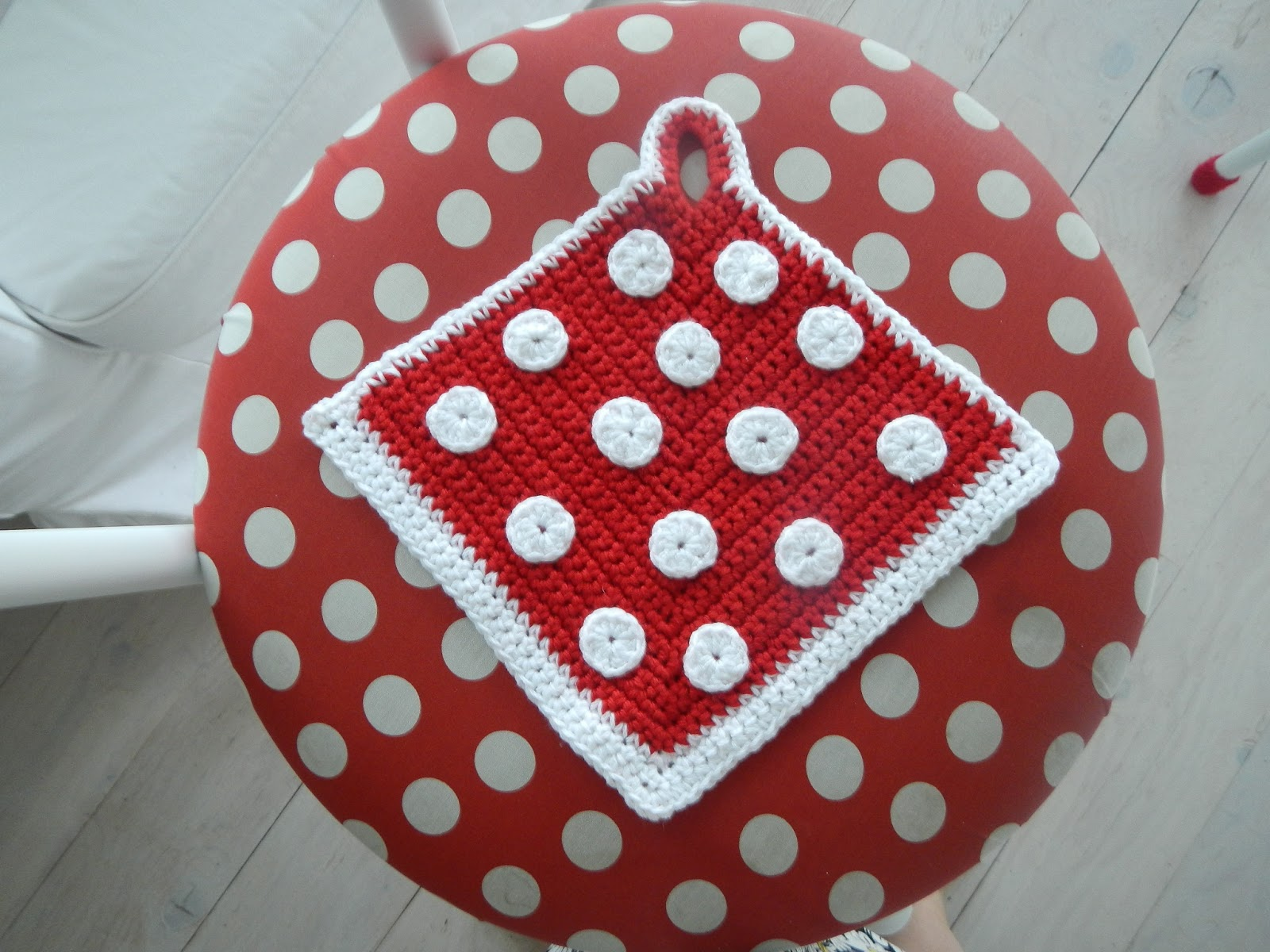 Apple Blossom Dreams Red And White Polka Dots