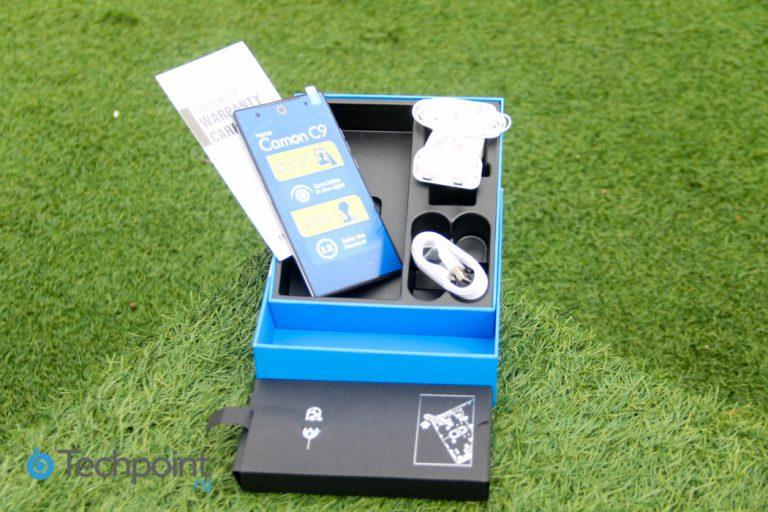 Tecno Camon C9 Unboxing Photos and Specs