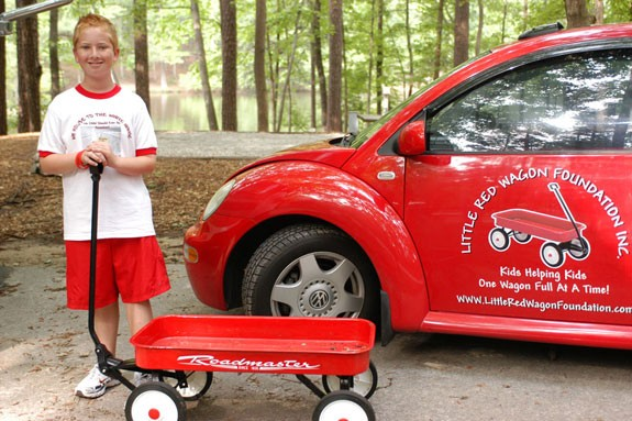 """Have You Seen """"The Little Red Wagon?"""""""