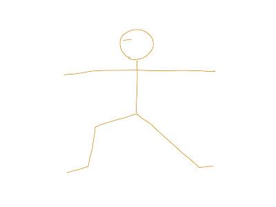 アイコン 「ヨガ」 (作: 塚原 美樹) ~ 目を描く
