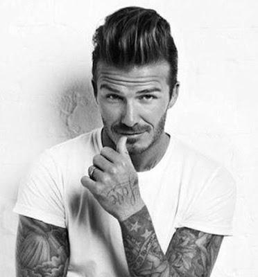 Gaya Rambut Keren David Beckham