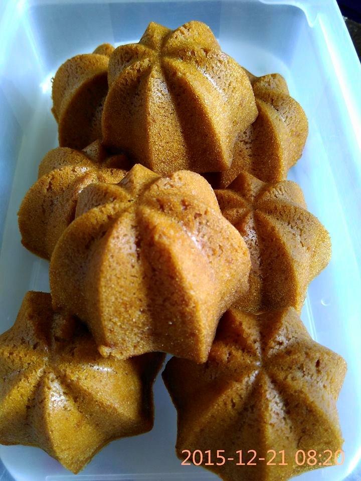 Resep Bolu Sakura Kukus Karamel Mekar Lembut Paling Enak