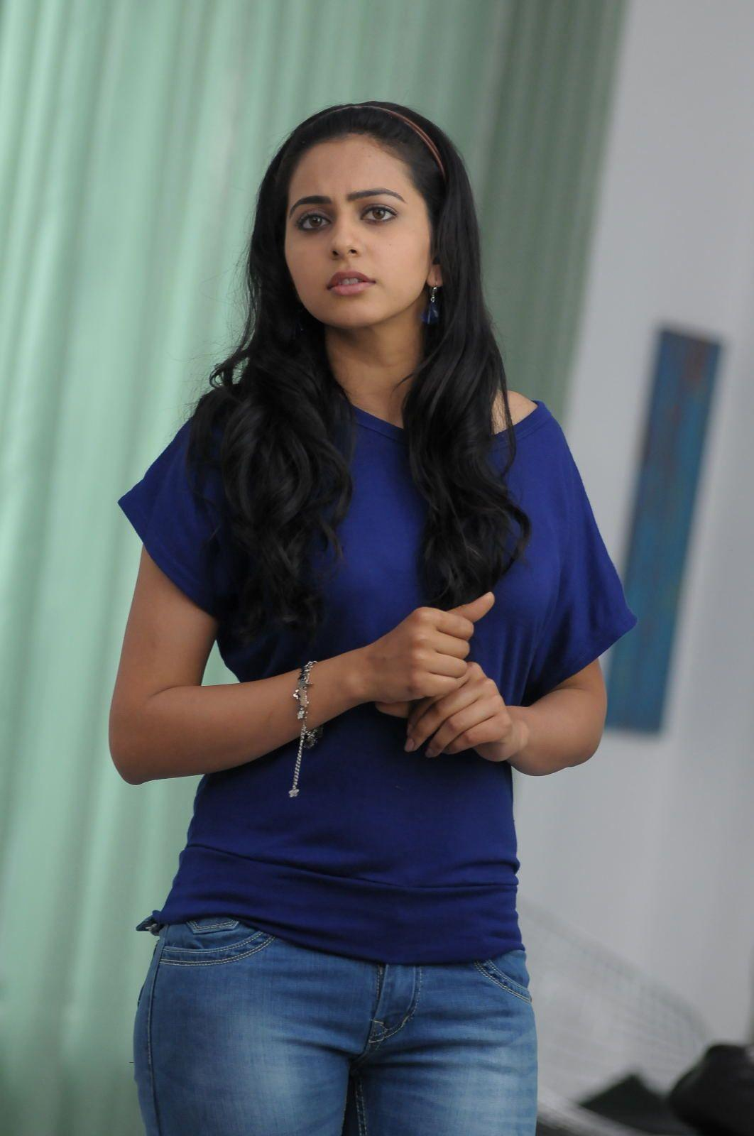 Rakul Preet Singh Stills In Blue Jeans