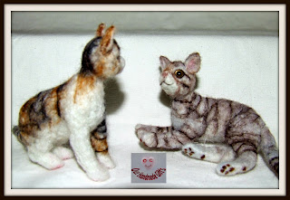 animales miniatura para casa de munecas.