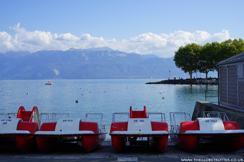 Ouchy Promenade in Lausanne