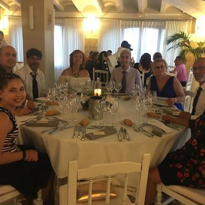 Boda en Xàvia  (Javea)  25 de Agosto 2018. Juanvi y Sandra  Ermita del Calvario de Xàvia  Salones del Rte. Carrasco.