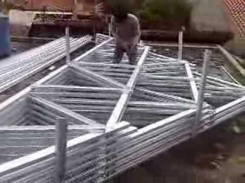 Perakitan Kuda Baja Ringan Jual Kusen Alm Di Semarang Canopy