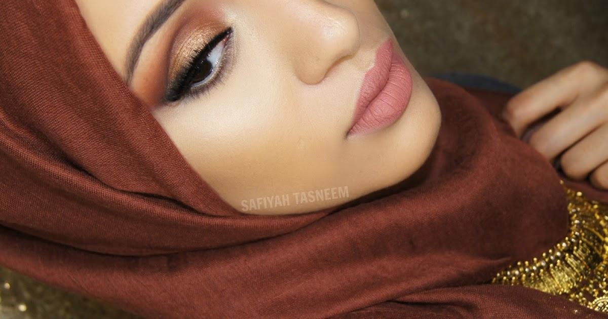 Safiyah Tasneem  Ff Naked Palette Brown-Gold Make Up Look-3380