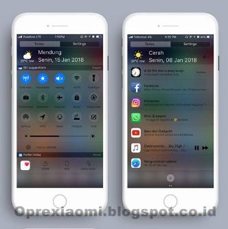 Kumpulan Tema Xiaomi  iOS Mtz Full Untuk Miui V9 / V8 Terbaru