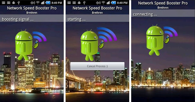 Aplikasi penguat sinyal android - network signal speed booster