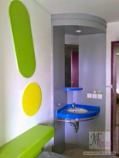 Projects Hotel Pop Tebet Jakarta: Wastafel Kamar Hotel