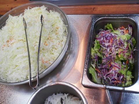 ビュッフェコーナー:サラダ2 ステーキガスト一宮尾西店11回目