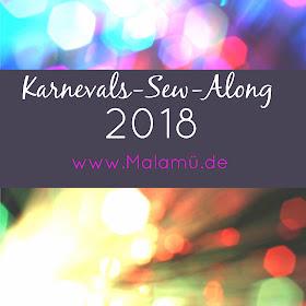 Karnevals Sew Along 2018 mit Kostümideen