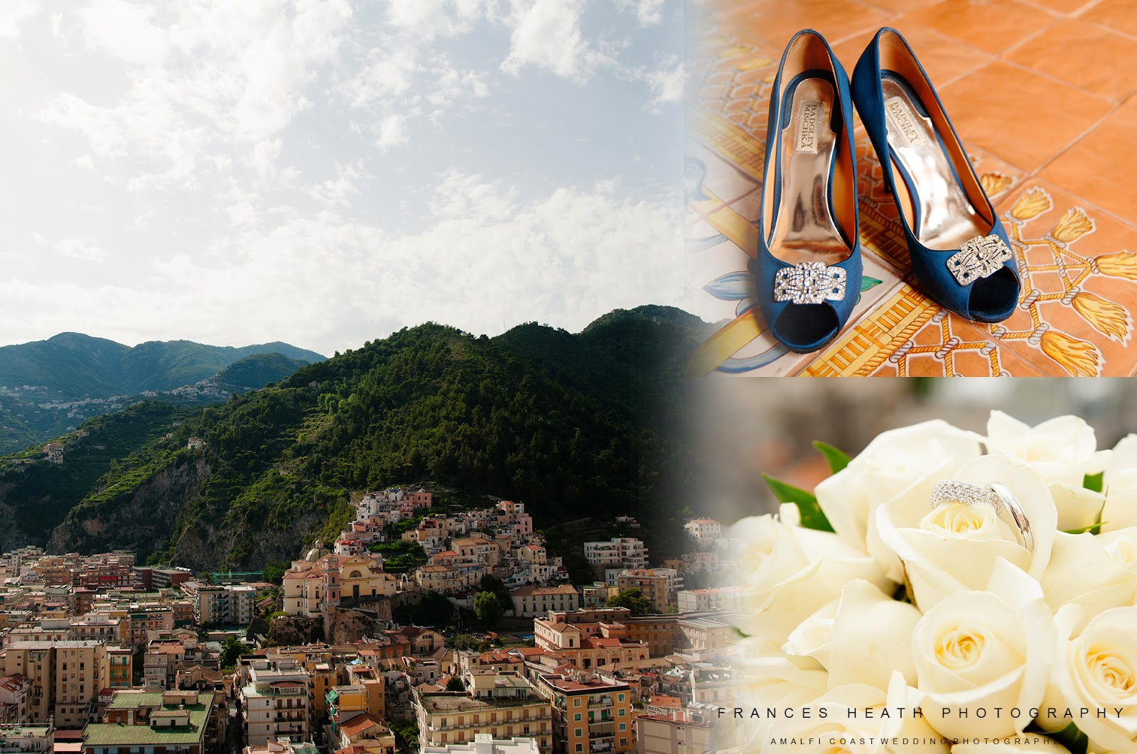 Wedding decoration and details on the Amalfi Coast